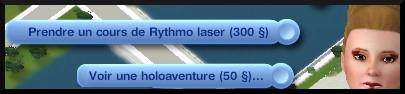 59 sims 3 en route vers le futur nouveautes cinema interaction holoaventure rythmolaser