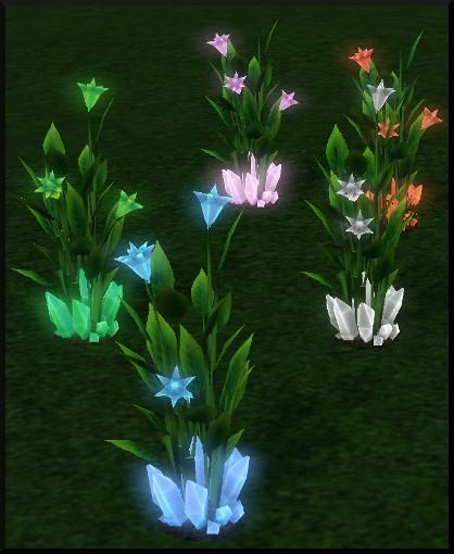 76 sims 3 en route vers le futur nouveautes plante a cristaux