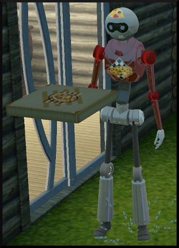 78 sims 3 en route vers le futur nouveautes pnj plumbot livreur pizza
