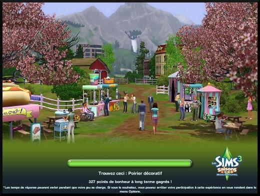 83 sims 3 en route vers le futur nouveautes ecran chargement interactif jeu