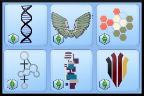 15 sims 3 en route vers le futur CAS objets vetements tatouages