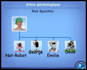 1 sims 3 en route vers le futur plumbot arbre généalogique