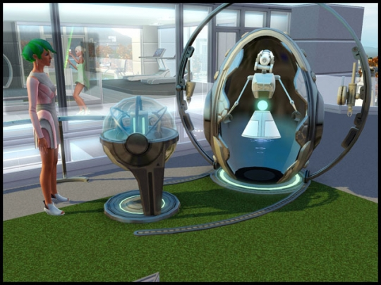 3 sims 3 en route vers le futur plumbot atelier de fabrication reventlov