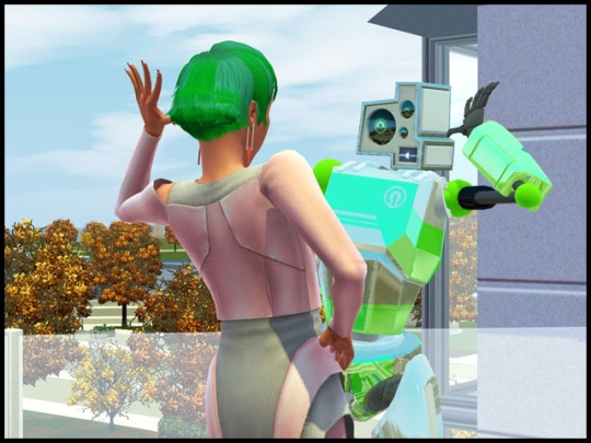 4 sims 3 en route vers le futur plumbot interaction construction