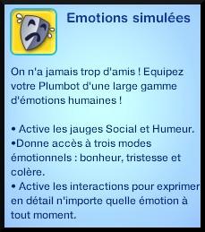44 sims 3 en route vers le futur plumbot puce emotions simulees