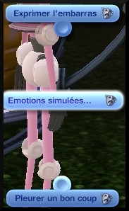 51 sims 3 en route vers le futur plumbot emotions simulees mode tristesse interactions