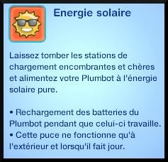 54 sims 3 en route vers le futur plumbot puce energie solaire