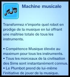 58 sims 3 en route vers le futur plumbot puce machine musicale