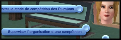 23 sims 3 en route vers le futur competition robot carriere stade robot interaction superviser organisation competition