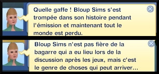 24 sims 3 en route vers le futur competition robot carriere stade robot message superviser organisation competition