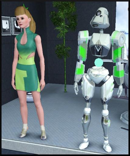 25 sims 3 en route vers le futur competition robot carriere stade robot plumbot sim
