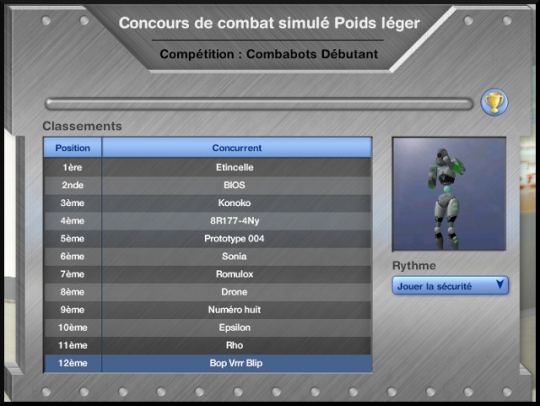 33 sims 3 en route vers le futur competition robot carriere stade robot panneau competition