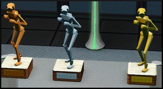36 sims 3 en route vers le futur competition robot carriere stade robot coupe trophee combabots