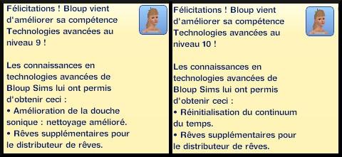 9 sims 3 en route vers le futur competence technologies avancees message niveau 9 10