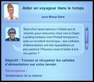 5 sims 3 en route vers le futur voyager dans le futur oppportunité cellule alimentation portail temporel