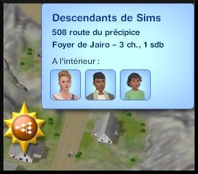 13 sims 3 en route vers le futur voyager dans le futur localisation descentants oasis landing