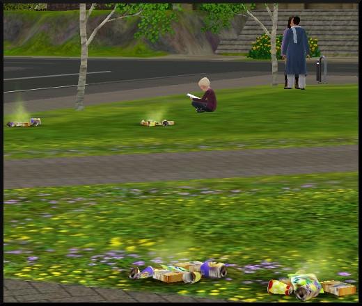 38 sims 3 en route vers le futur voyager dans le futur futur dystopique déchets sol