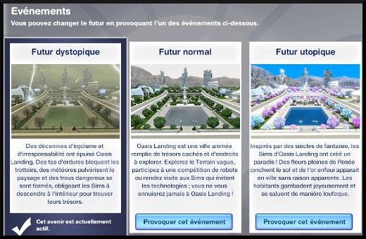 39 sims 3 en route vers le futur voyager dans le futur futur dystopique almanach temps