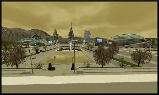 40 sims 3 en route vers le futur voyager dans le futur futur dystopique vue oasis landing