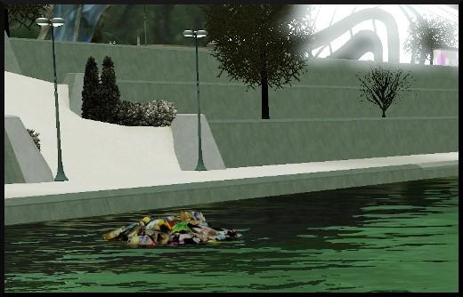 45 sims 3 en route vers le futur voyager dans le futur futur dystopique bassin peche poisson trois yeux