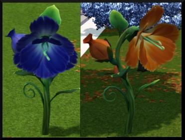 81 sims 3 en route vers le futur voyager dans le futur futur utopique fleur bleu orange