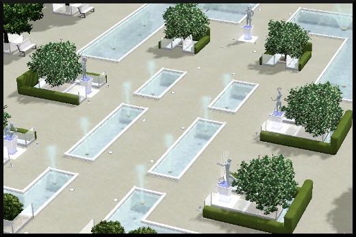 107 sims 3 en route vers le futur voyager dans le futur statue commémorative parc commémoratif oasis landing