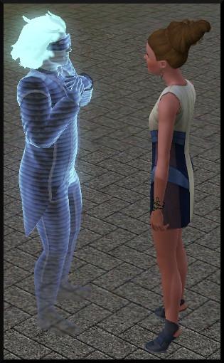 108 sims 3 en route vers le futur voyager dans le futur statue commémorative visite holographique emit