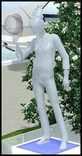 116 sims 3 en route vers le futur voyager dans le futur statue commémorative créateur de tendance socle vetement