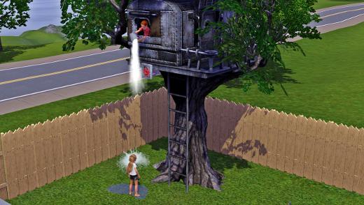 Sims 3 article test add on g n ration les enfants for Acheter cabane dans les arbres