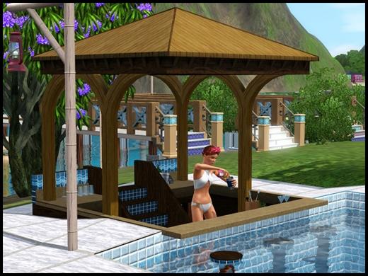 ile de rêve bar de piscine