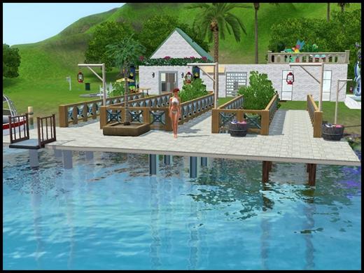 île de rêve ponton