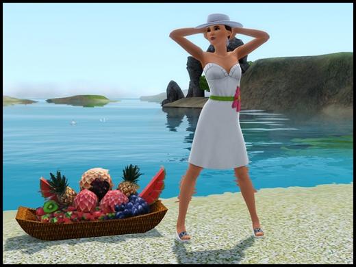 île de rêve robe blanche