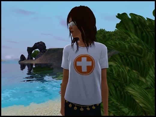 île de rêve t shirt de secours