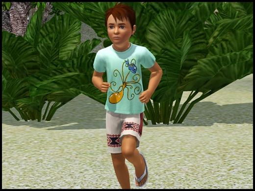 île de rêve enfant garçon vêtement