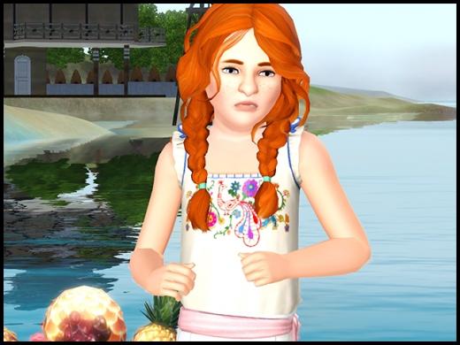 île de rêve coiffure fillette tresses