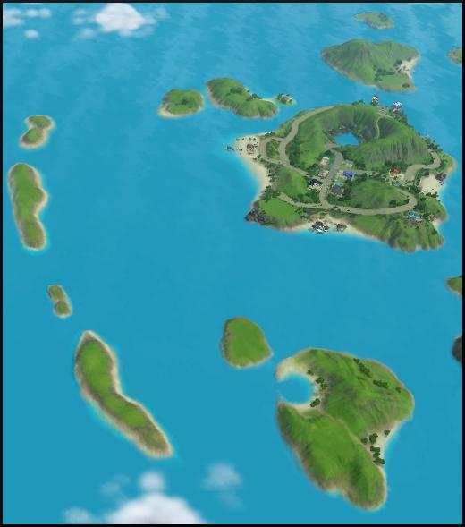 sims 3 isla paradiso ile de reve