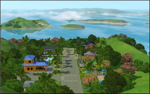 sims 3 ile de reve isla paradiso
