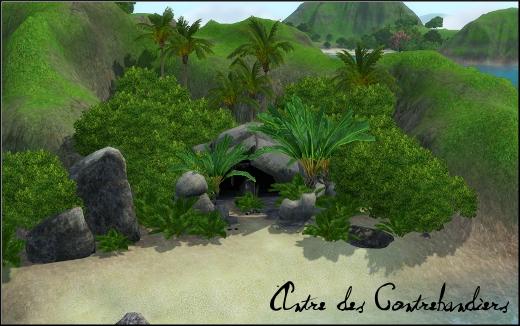 sims 3 ile de reve isla paradiso antre contrebandiers rabbit holes