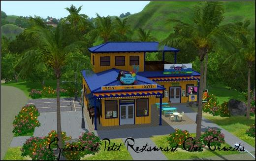 sims 3 ile de reve ilsa paradiso petit restaurant chez cruzita rabbit hole