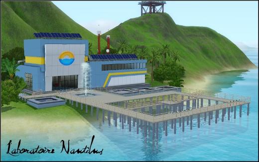 sims 3 ile de reve isla paradiso rabbit hole laboratoire scientifique nautilus