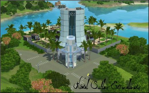 sims 3 ile de reve isla paradiso hotel sables etincelants