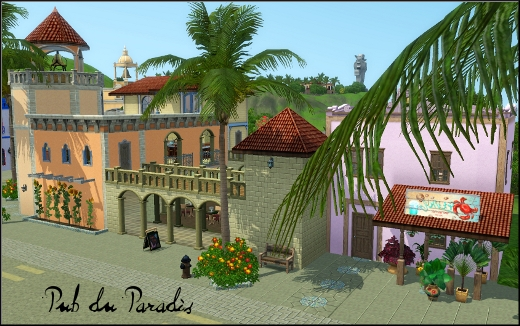 sims 3 ile de reve isla paradiso pub du paradis