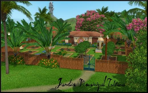 sims 3 ile de reve isla paradiso jardin municiap ichtaca