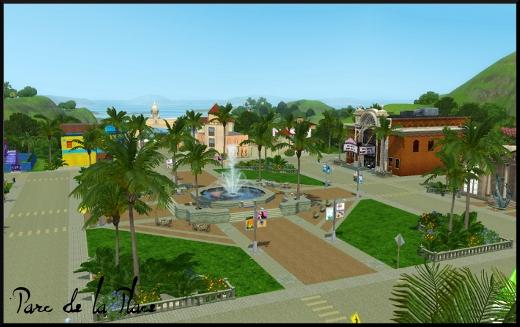 sims 3 ile de reve isla paradiso parc de la place