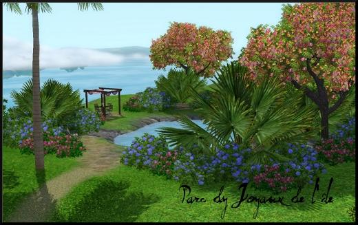 sims 3 ile de reve isla paradiso parc joyaux de l ile