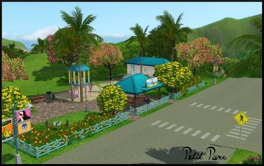 sims 3 ile de reve isla paradiso petit parc