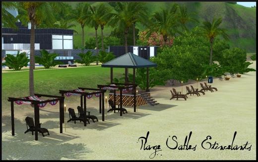 sims 3 ile de reve isla paradiso plage sables etincelants