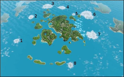 sims 3 ile de reve isla paradiso iles cachees