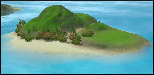 sims 3 ile de reve isla paradiso iles cachees banc de sable accueillant