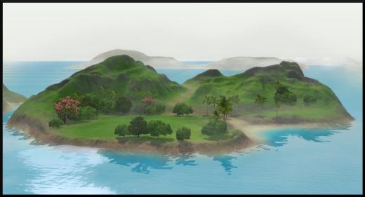 sims 3 ile de reve isla paradiso iles cachees atoll atypique
